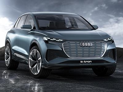 Audi представила компактный электрический кроссовер Q4 e-tron