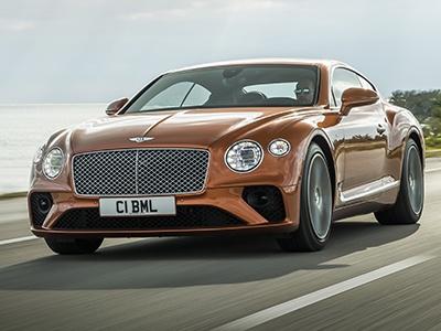 Bentley представил новые купе и кабриолет Continental GT V8