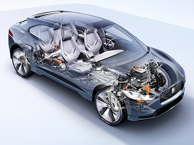 Jaguar J-Pace станет огромным электрическим кроссовером