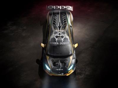 Lamborghini представил суперкар с часами на крыше