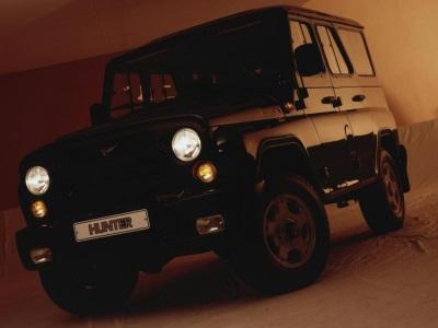 Машины УАЗ «Хантер» отправились в Чили