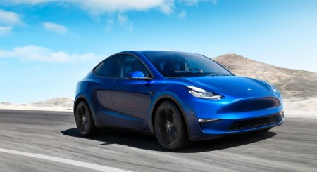 Электрический кроссовер Tesla Model Y официально представлен