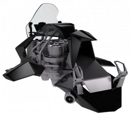 Jetpack Aviation открывает предзаказ на реактивные летающие мотоциклы Speeder