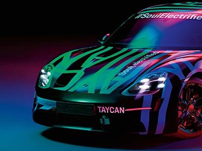 Porsche показала предсерийный электрокар Taycan