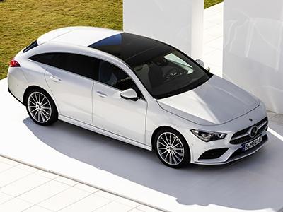 Представлен универсальный Mercedes-Benz CLA-Class