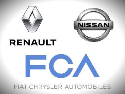 СМИ: Renault, Nissan и Fiat Chrysler могут объединиться
