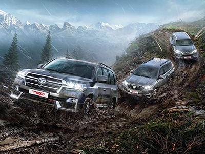 Три брутальных внедорожника привезла Toyota. Известны цены