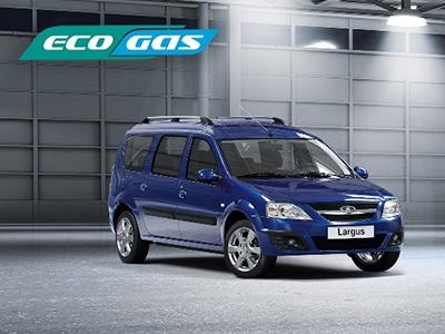 Двухтопливный Lada Largus CNG поступил в продажу