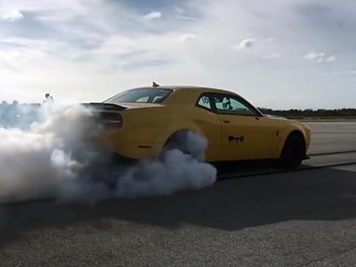 Гипер-Dodge «Демон» показал гиперкарам адский разгон
