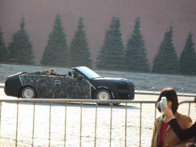 Мантуров раскрыл важные подробности о кабриолете Aurus