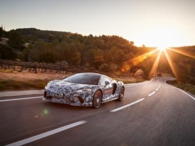 McLaren опубликовал новые снимки модели Grand Tourer