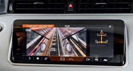 Новый Range Rover Evoque позволяет видеть дорогу сквозь капот