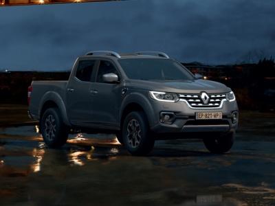 Renault обновил пикап Alaskan