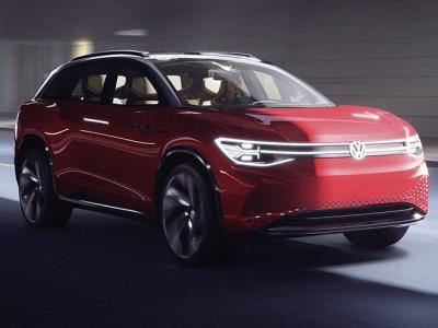 Volkswagen показал трехрядный кроссовер I.D. Roomzz