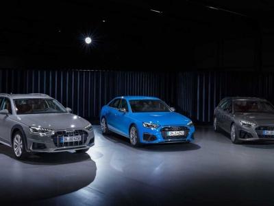 Audi представила семейство A4 2020 модельного года