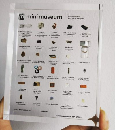 «Мини-музей» позволит каждому сохранить частичку мировой истории