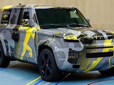 Облик нового Land Rover Defender почти полностью рассекречен