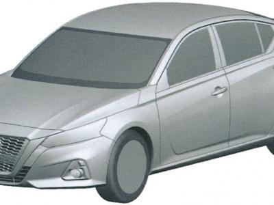 Облик нового Nissan Teana запатентован в России