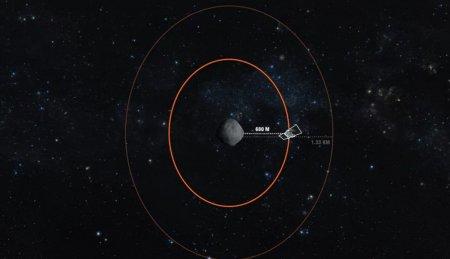 Аппарат OSIRIS-REx приблизился к астероиду Бенну на рекордно близкое расстояние