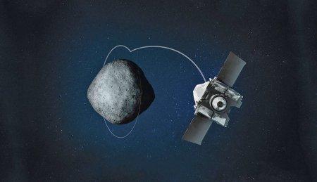 #фото | OSIRIS-REx показал кратеры астероида Бенну с идеальными образцами грунта