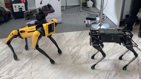 Китайский робот делает сальто назад. Как тебе такое, Boston Dynamics?