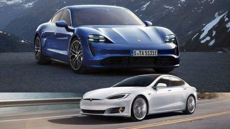 Porsche Taycan положит конец Tesla? Сомневаюсь