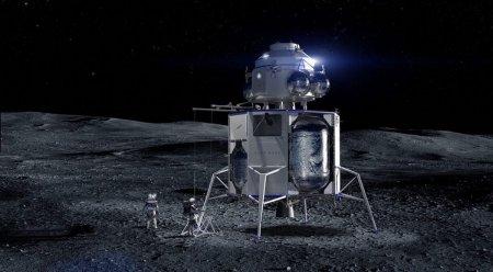 Blue Origin и SpaceX будут работать «под присмотром» NASA над освоением Луны