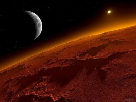 Найденный минерал может указывать на следы жизни на Марсе