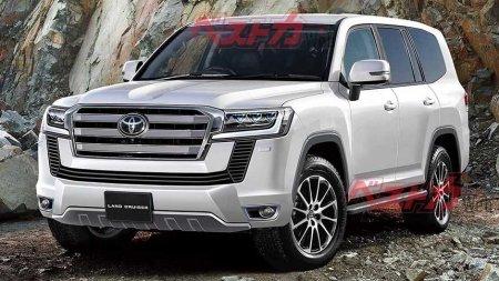 СМИ рассекретили дату премьеры нового Toyota Land Cruiser