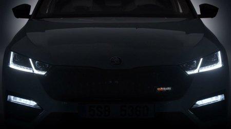 Skoda намекнула на два варианта Octavia iV