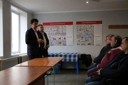 Рабочая встреча главы округа