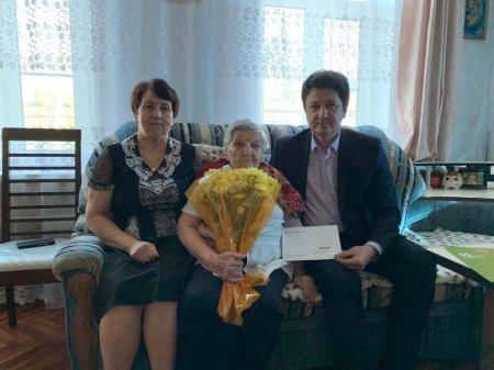 Глава округа поздравил жительницу с 95-летием