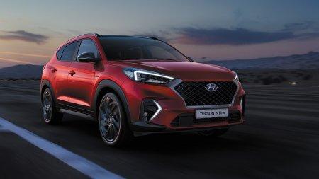 Hyundai объявил рублевые цены на спортивный Tucson N Line