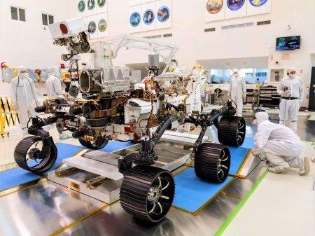 NASA отправит на Марс аппарат Perseverance для производства кислорода