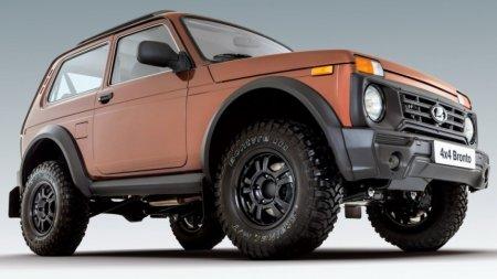 Раскрыто, когда обновится топовая Lada 4x4