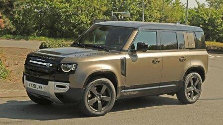 У нового Land Rover Defender будет мощный мотор V8