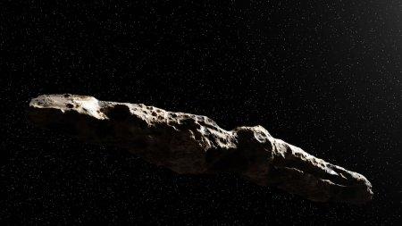 Загадочный пришелец Оумуамуа может оказаться космическом айсбергом