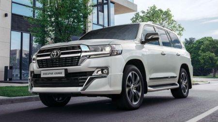Toyota назвала цены на спецверсию Land Cruiser 200 в России