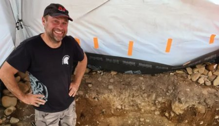 Как археолог-любитель нашел 3000-летний шотландский меч?