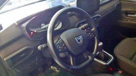 Рассекречен интерьер новых Dacia Logan и Sandero