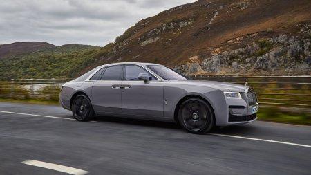 Как устроена подвеска нового Rolls-Royce Ghost, который «стелет»