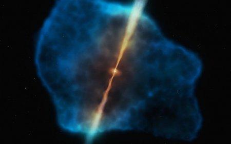 С какой скоростью вращается сверхмассивная черная дыра в центре Млечного пути?