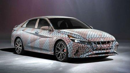 Hyundai анонсировал самую мощную Elantra