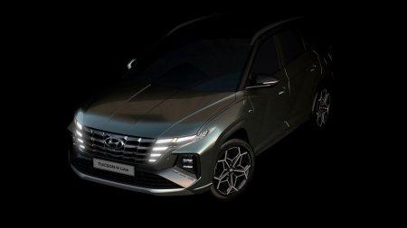 Hyundai раскрыл дизайн Tucson N Line