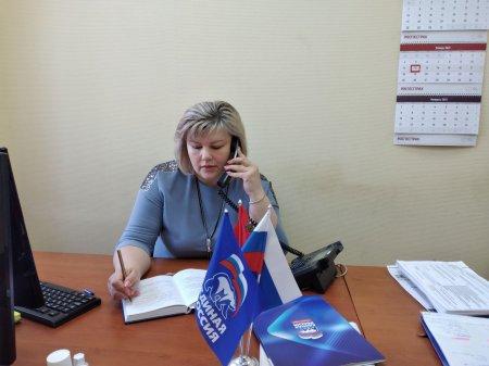 В рамках недели приема граждан с 11 по 15 января в Общественной приемной Серебряно-Прудского местного отделения Партии
