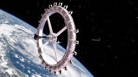 В 2027 году в космосе появится отель на 400 человек, но люди в него не верят