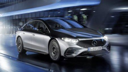 Новый Mercedes EQS обзавелся автопилотом и 350 сенсорами
