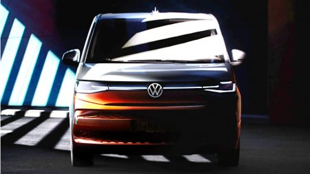 Новый Volkswagen Multivan обзаведется внешностью в стиле Golf