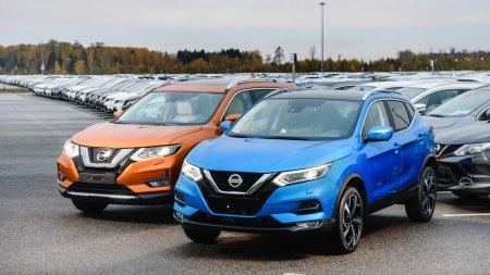 В России начались продажи обновленных Nissan Qashqai и X-Trail