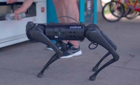Вы можете купить личного робота-собаку всего за 2 700 долларов. Что он умеет?
